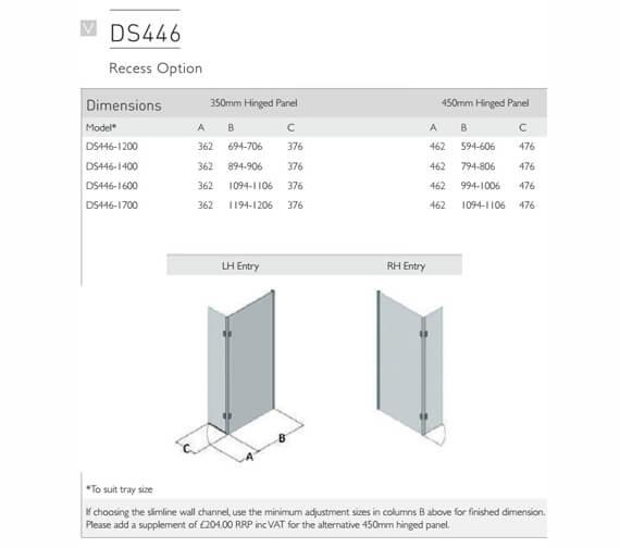 Technical drawing QS-V100127 / DS446-1200LHE