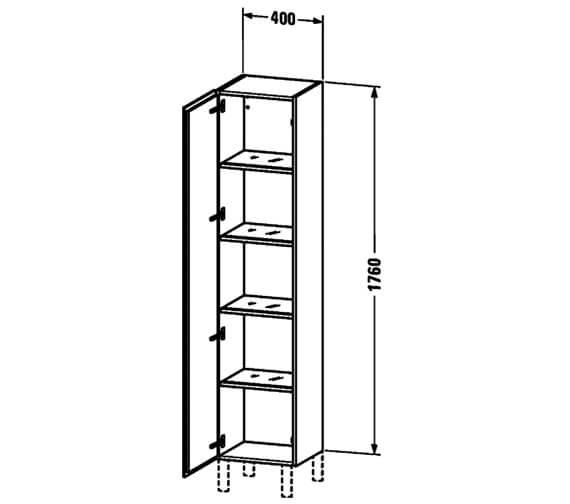 Technical drawing QS-V63429 / LC1170L1818