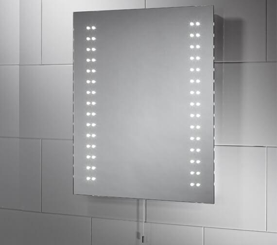 Sensio Tula Slimline 390 x 500mm Diode LED Mirror
