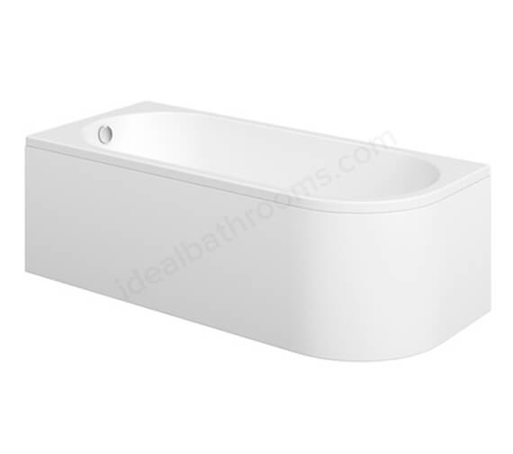 Essential Pimlico Single Ended Bath Left Hand 1700 x 750mm