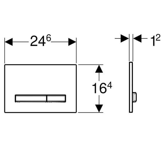 Technical drawing QS-V93846 / 115.788.00.2