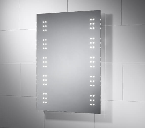 Sensio Ava 500 x 700mm LED Battery Operated Mirror