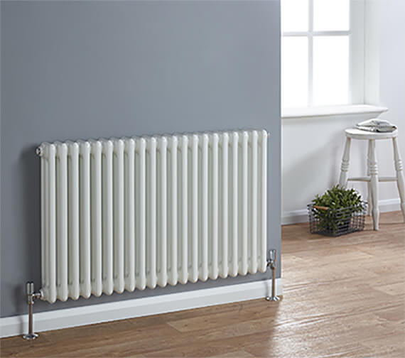 Biasi Chiara Horizontal 3 Column 600mm High Tubular Radiator