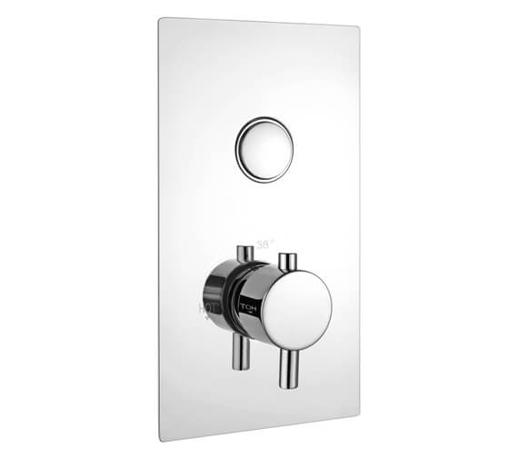Niagara Equate Push Button Concealed Shower Valve