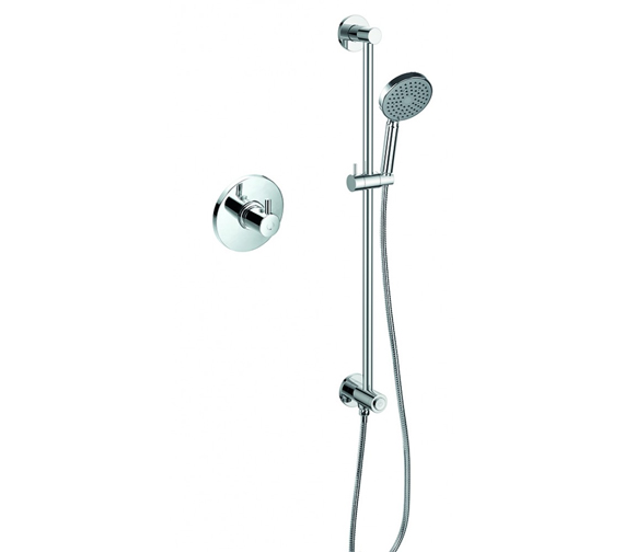 Flova Levo Thermostatic Shower Set With GoClick On Or Off Control