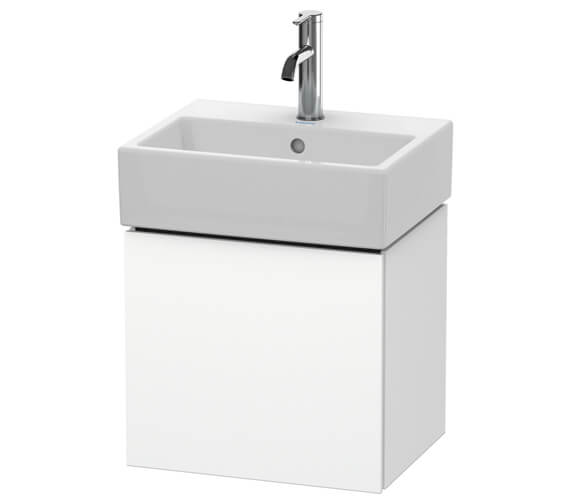 Duravit L-Cube 434mm Wall Mounted Vanity Unit For Vero Air Basin
