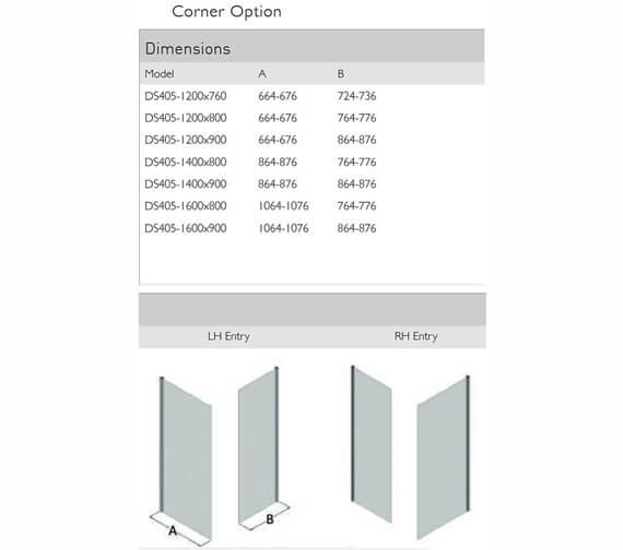 Technical drawing QS-V100129 / DS405-12x76LHE