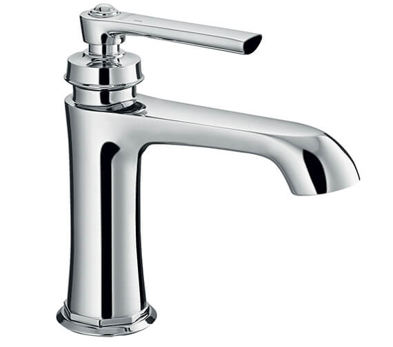 Flova Liberty Basin Mixer Tap With Clicker Waste