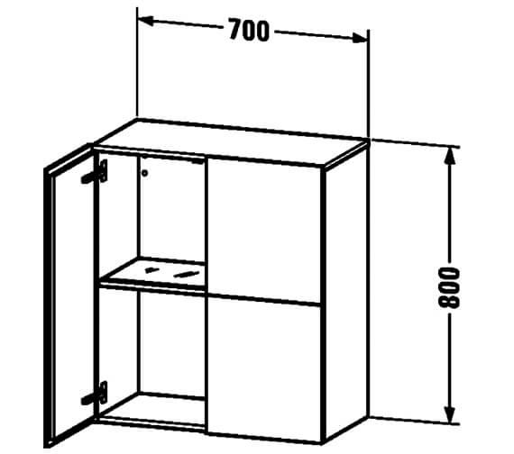Technical drawing QS-V63419 / LC116701818
