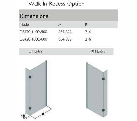 Technical drawing QS-V100130 / DS420-14X9LHE
