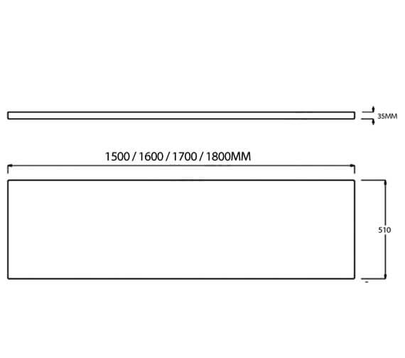 Technical drawing QS-V99754 / EP622