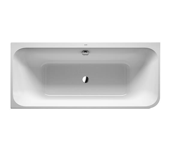 Duravit Happy D.2 Plus 1800 x 800mm Corner Bath With Panel And Frame