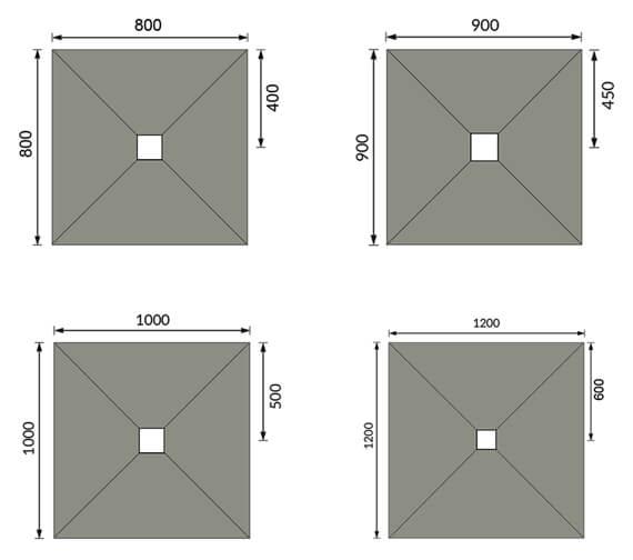 Technical drawing QS-V98065 / BEO-QUADTRC080830