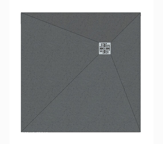 Alternate image of Beo Original 30mm Thick Square Level Access Shower Tray