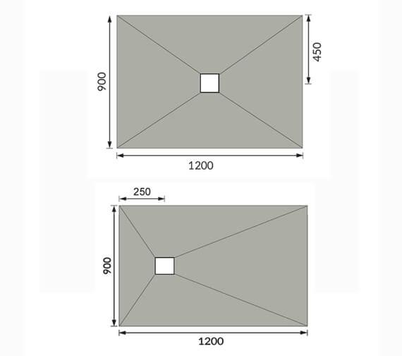 Technical drawing QS-V98066 / BEO-RECTTRE120930