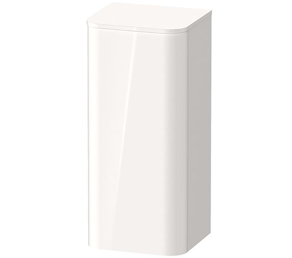 Duravit Happy D.2 Plus 400 x 880mm Single Door Semi-Tall Cabinet - Left Hand Hinge