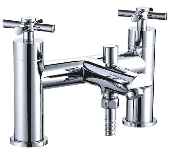 Niagara Finchley Deck Mounted Bath Shower Mixer Tap With Kit