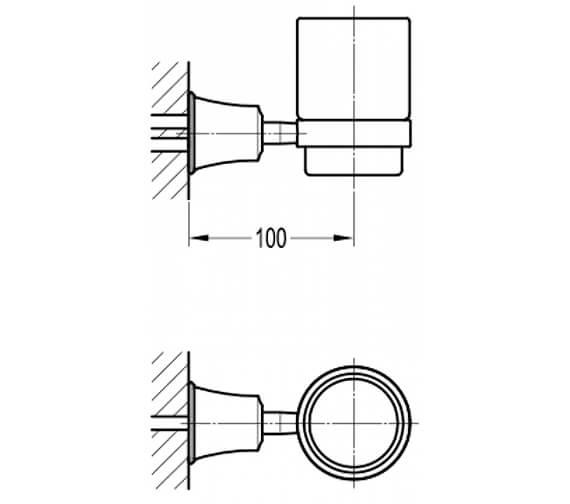 Technical drawing QS-V101030 / LI8986