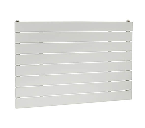 Biasi Lorenza Horizontal Top-Quality Single Flat Panel Radiator -  595mm High