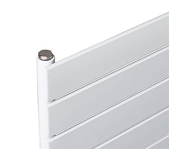 Alternate image of Biasi Lorenza Horizontal Top-Quality Single Flat Panel Radiator -  595mm High