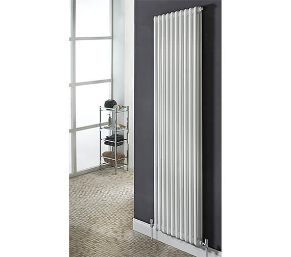 Biasi Chiara Vertical 3 Column Tubular Radiator - 2000mm High