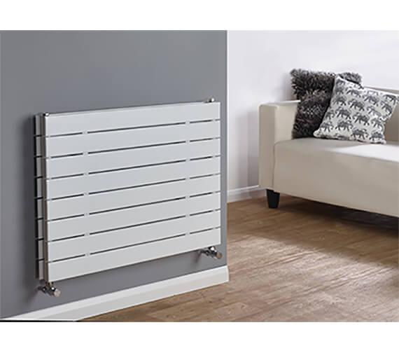 Biasi Lorenza Horizontal Double Flat Panel Radiator - 595mm High