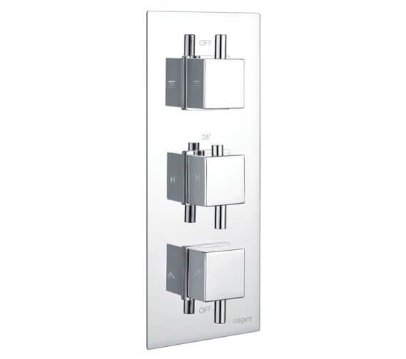 Additional image of Niagara Observa Concealed Thermostatic Shower Valve Square