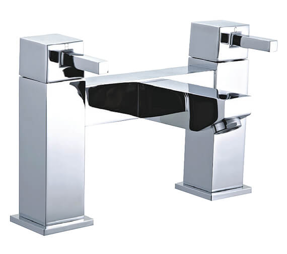 Niagara Finsbury Chrome Deck Mounted Bath Filler Tap
