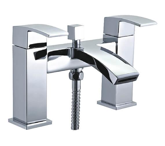 Niagara Pimlico Deck Mounted Bath Shower Mixer Tap With Kit
