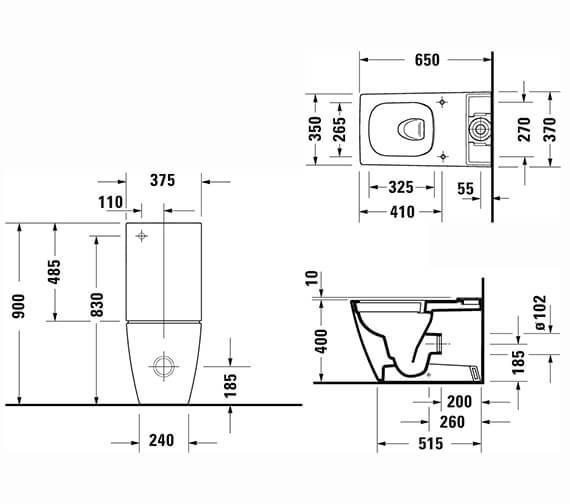 Technical drawing QS-V96218 / 2191090000