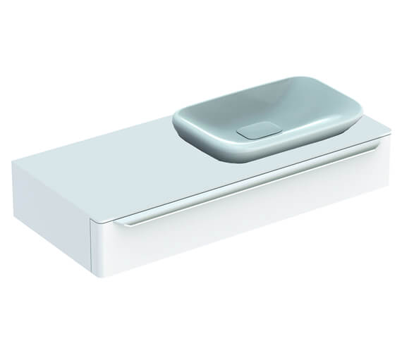 Geberit MyDay 1150mm Wide Single Drawer Vanity Unit And Basin