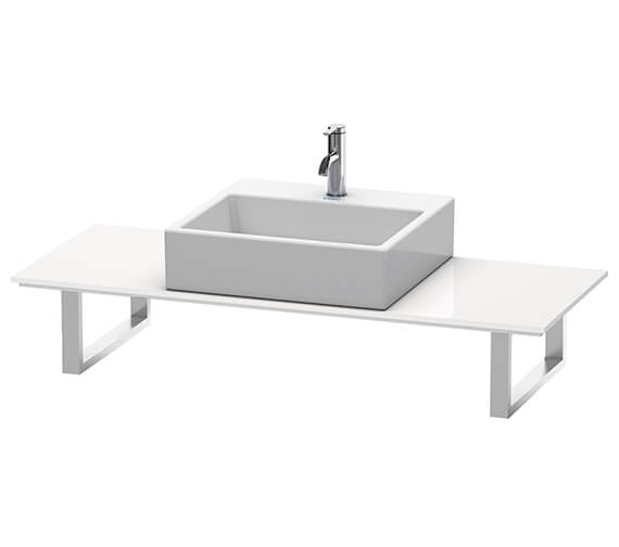 Duravit Happy D2 800 x 480mm White 1 Cut-Out Console