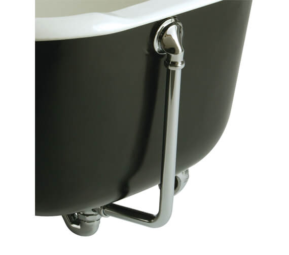 Bristan Traditional Exposed Bath Waste with Overflow