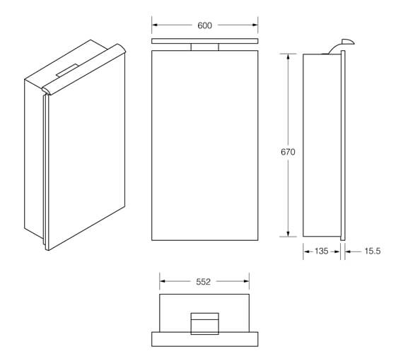 Technical drawing QS-V99703 / 856582406