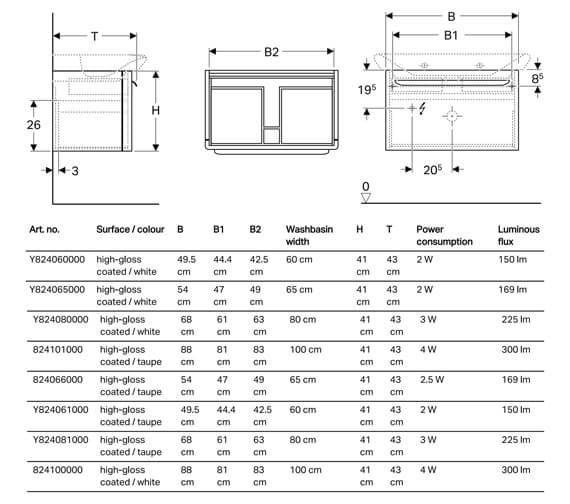 Technical drawing QS-V93817 / Y824060000