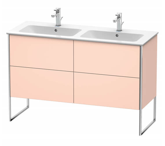 Alternate image of Duravit XSquare Floor-Standing 1280 x 478 x 832mm Vanity Unit With 4-Pull-Out Compartments