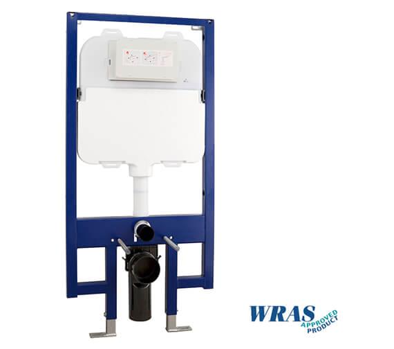 Beo Slimline 90mm Wc Frame With Dual Flush Cistern