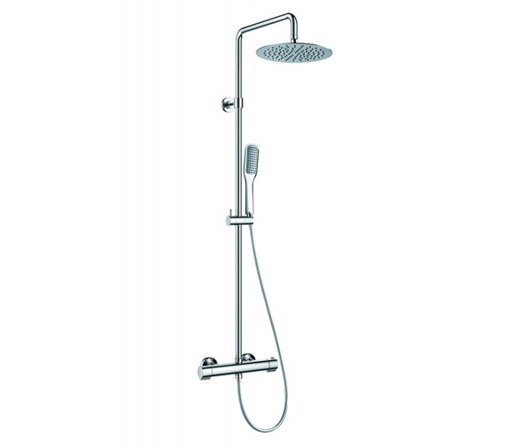 Flova Smart Thermostatic Exposed Shower Column With Showerhead