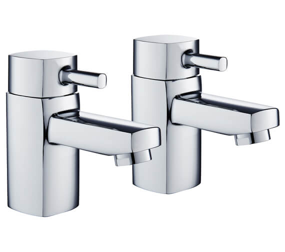 Niagara Holborn Pair Of Basin Tap Chrome