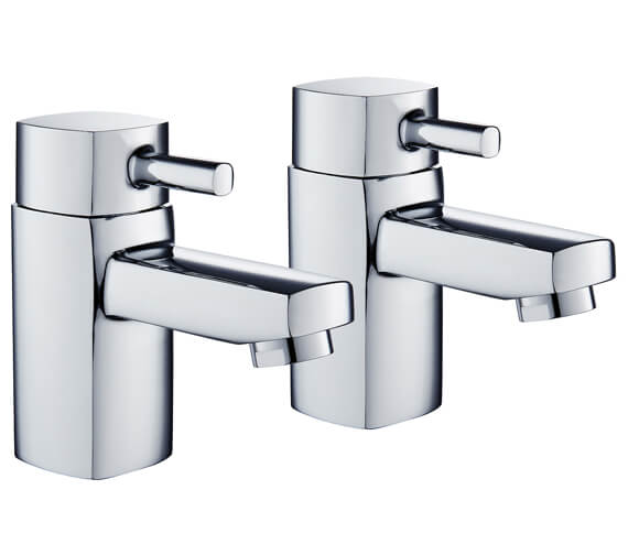 Niagara Holborn Pair Of Chrome Bath Taps