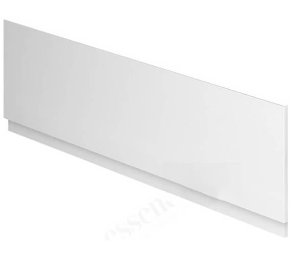 Essential Nevada 1700mm White Front Bath Panel