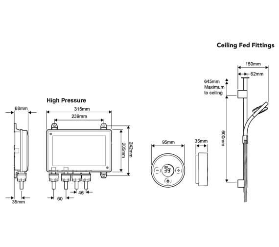 Technical drawing QS-V90963 / 1.1666.001