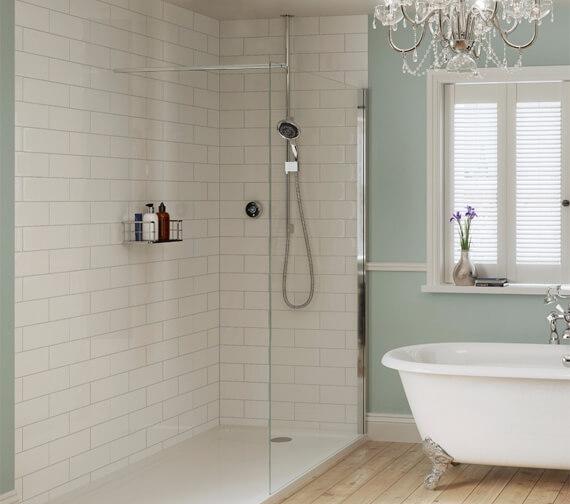 Alternate image of Mira Platinum Concealed Thermostatic Digital Mixer Shower