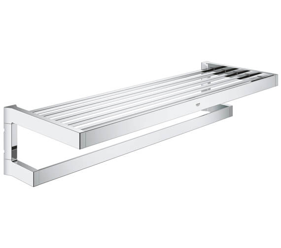 Grohe Selection Cube Multi Bath 600mm Towel Rack