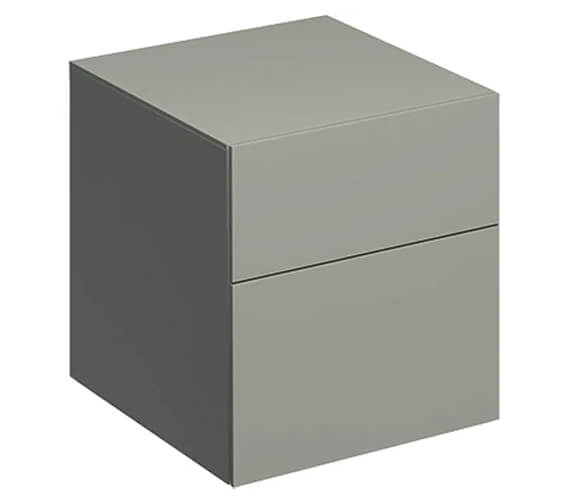 Additional image of Geberit Xeno2 450 x 462mm Two Drawers Low Cabinet