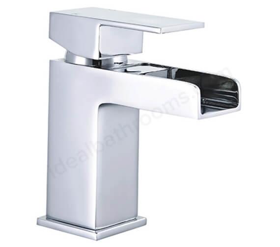 Essential Soho Designer Mini Mono Basin Mixer Tap With Click Clack Waste