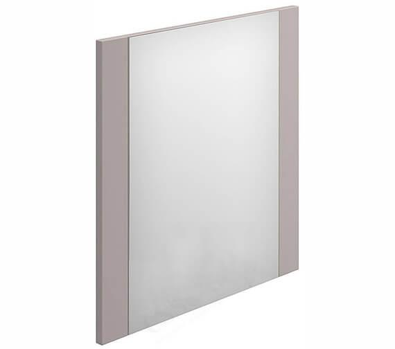 Essential Nevada Minimalist Rectangular Mirror Cashmere - 450 x 600mm