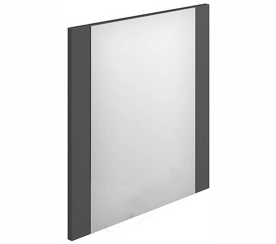 Alternate image of Essential Nevada Minimalist Rectangular Mirror Cashmere - 450 x 600mm