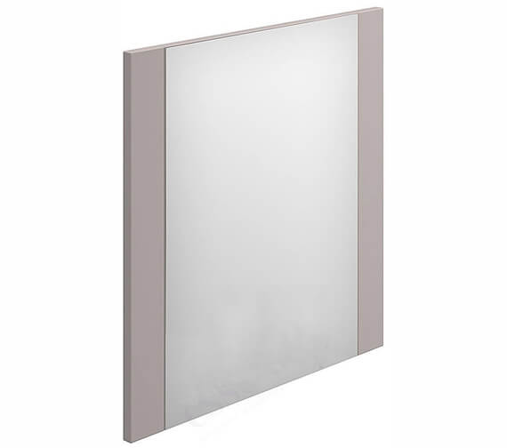 Additional image of Essential Nevada Minimalist Rectangular Mirror Cashmere - 450 x 600mm