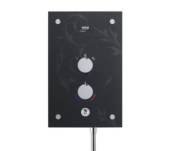 Alternate image of Mira Galena 9.8kW Thermostatic Electric Shower With Kit